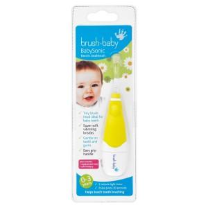 Звуковая электрическая щетка Brush Baby  BabySonic (0-3 года)