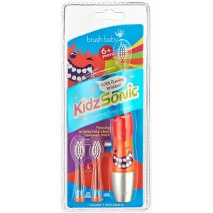 Звуковая электрическая щетка Brush Baby KidzSonic BRB083(с 6 лет)
