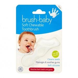Brush-Baby Силиконовая жевательная зубная щётка