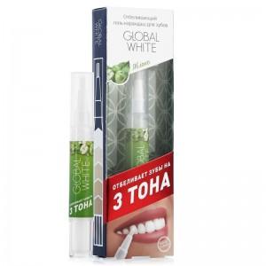 Global White Отбеливающий гель-карандаш Яблоко 6%