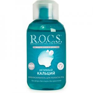 """ROCS ополаскиватель комплексная защита """" Aктивный кальций"""""""