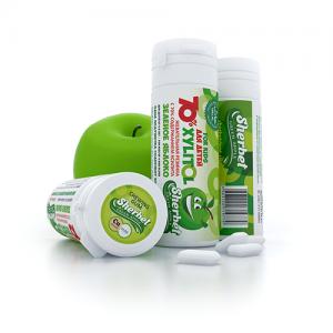 Sherbet Xylitol 70% For Kids детская жевательная резинка с ксилитом
