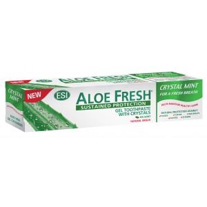Зубная паста Aloe Fresh Crystal Mint освежающая