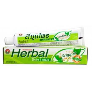 """Зубная паста """"Herbal  Twin Lotus Original"""" """"C травами оригинальная"""""""