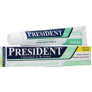 """President """"Garant"""" крем для фиксации зубных протезов"""