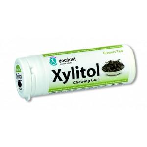 Жевательная резинка Miradentс ксилитолом, зеленый чай