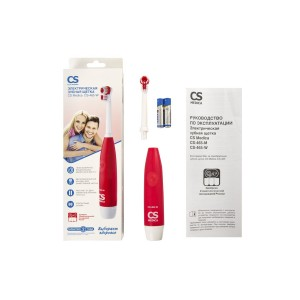Электрическая зубная щетка CS Medica CS-465-W, красная